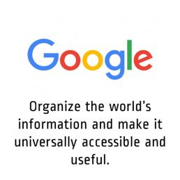 BHAG Google