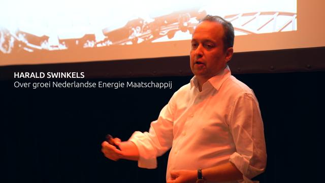 Harald Swinkels op het Jaarevent 2018