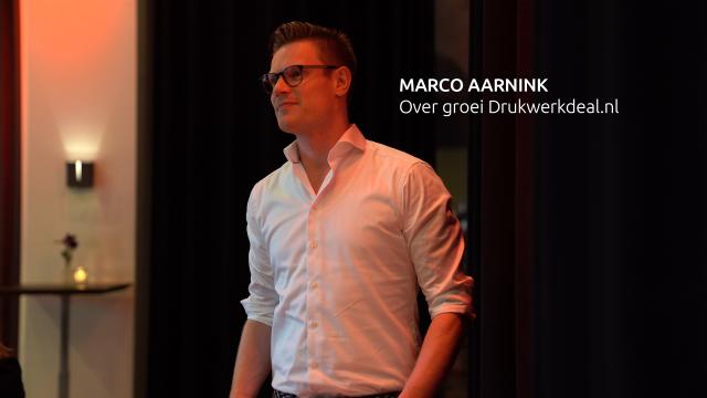 Marco Aarnink op het Jaarevent 2018