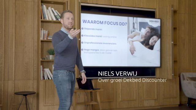 Niels Verwij op het Special Topic Seminar van maart 2019