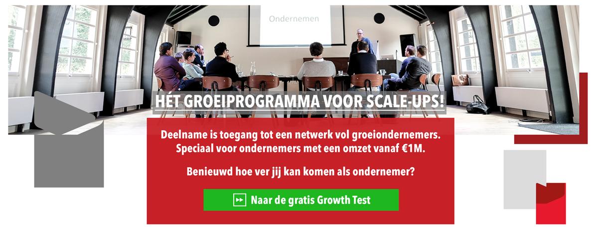 Maak de GoFastForward Growth Test!