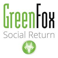 Greenfox Social Return Logo