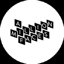 A Million Faces Logo