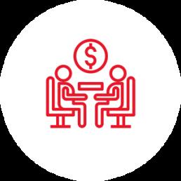 Investeerder Icon - Fusies & Overnames